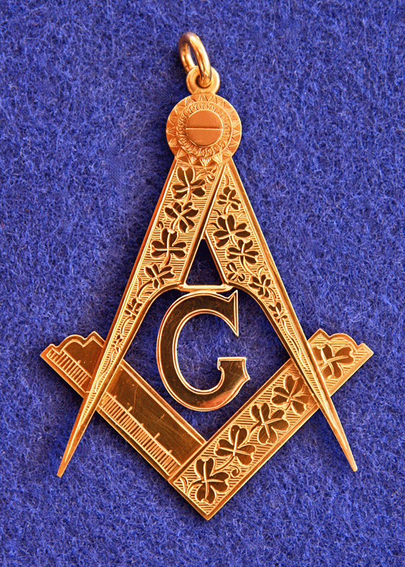 Sussex Lodge No  137 Past Master's Jewel - Irish Masonic