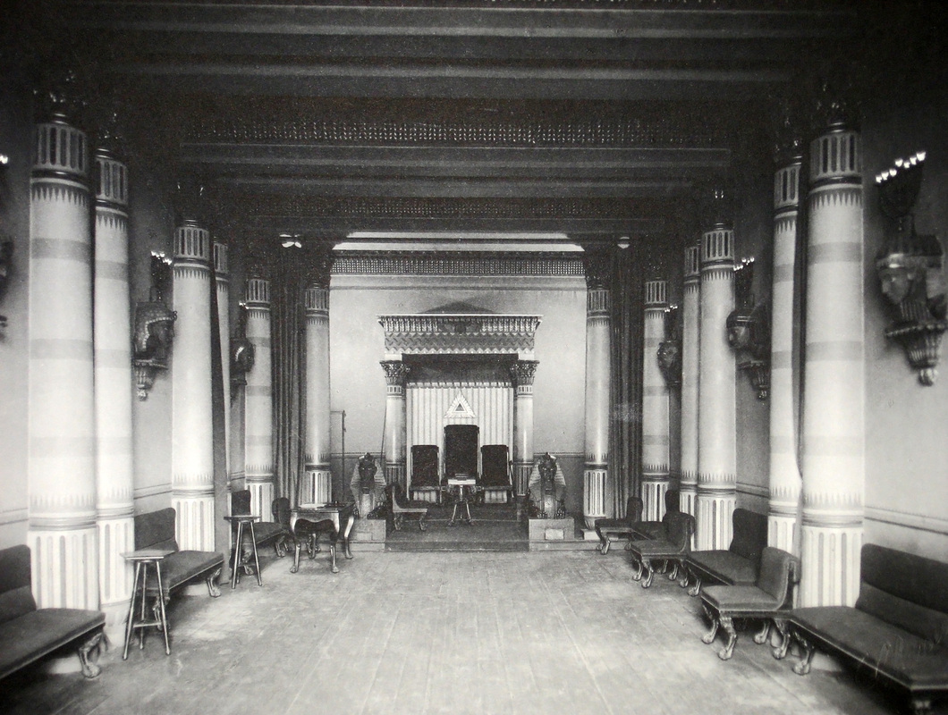 The Grand Royal Arch Room Dublin By Rep Wj Obrien Irish